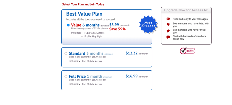 LoveandSeek pricing