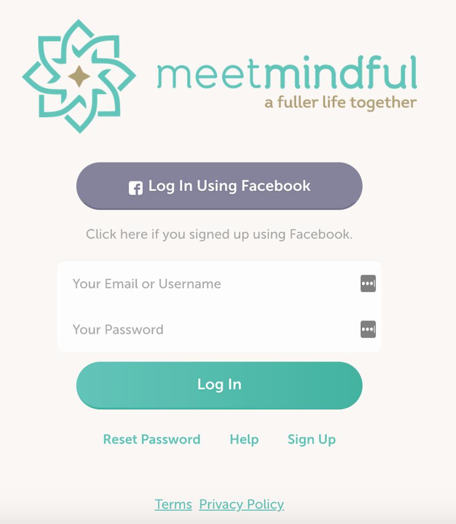 MeetMindful Registration