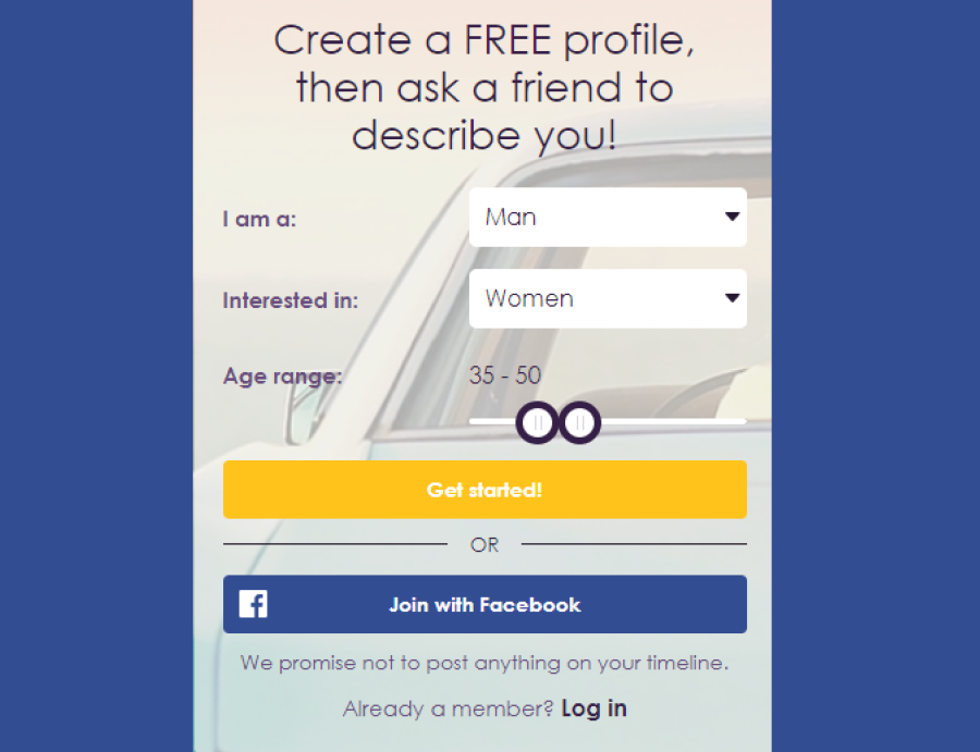 MySingleFriend Signup