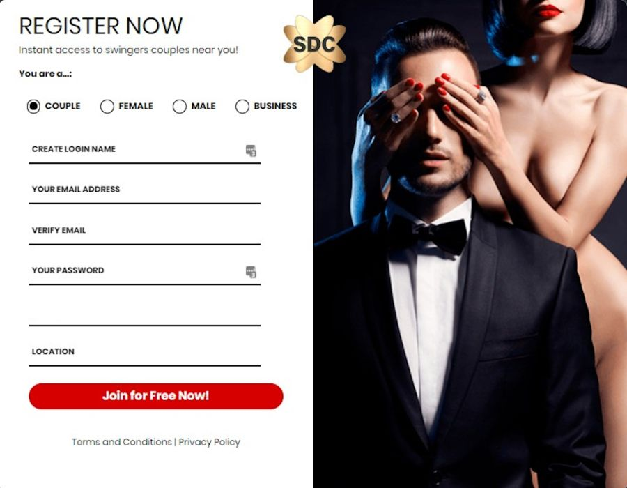 SDC Sign-up Form