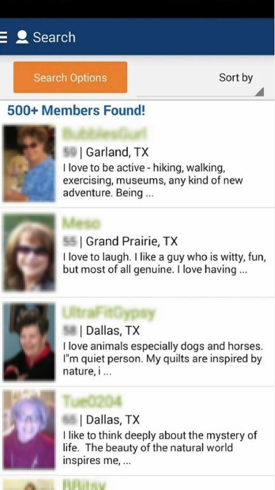 SeniorPeopleMeet App