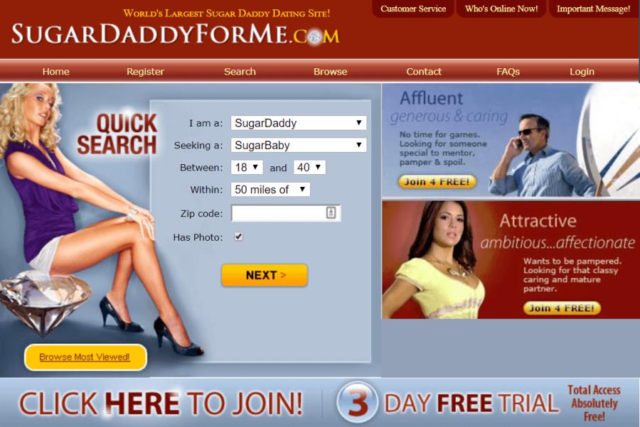 Sugar Daddy For Me Registration