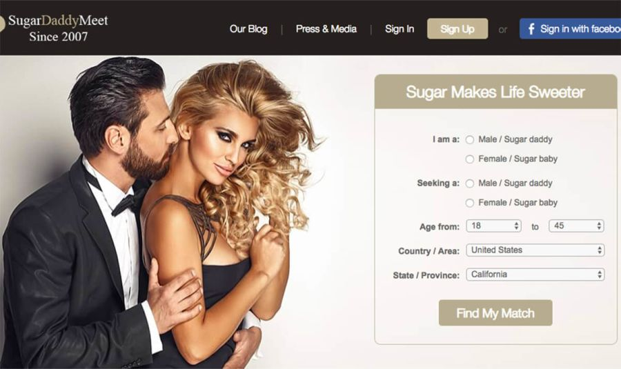 SugarDaddyMeet Registration