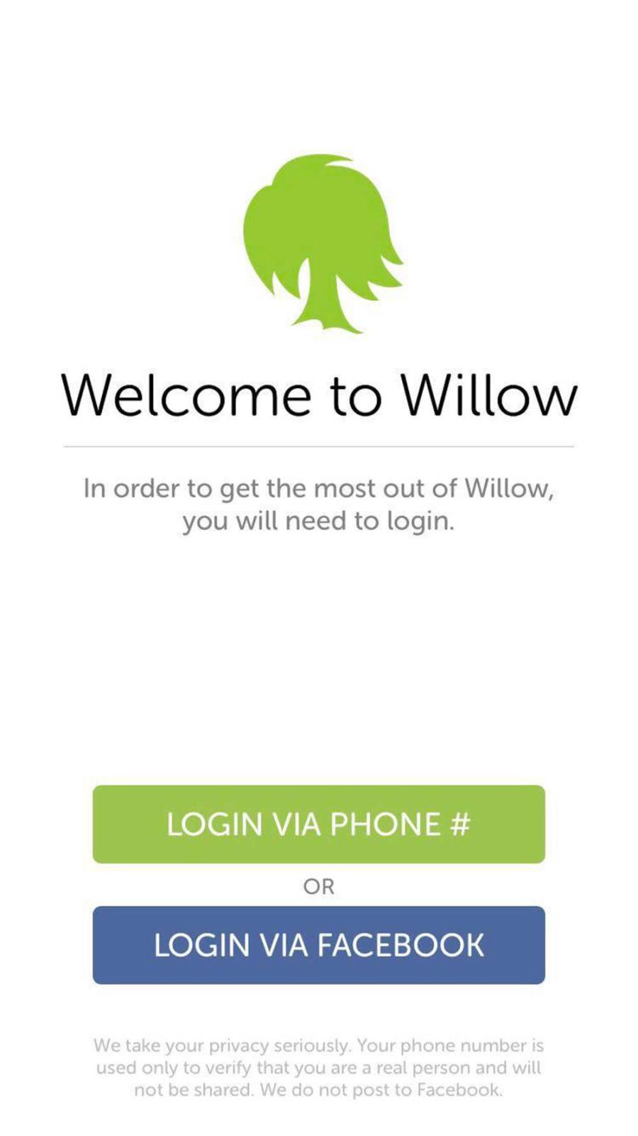 Willow Registration
