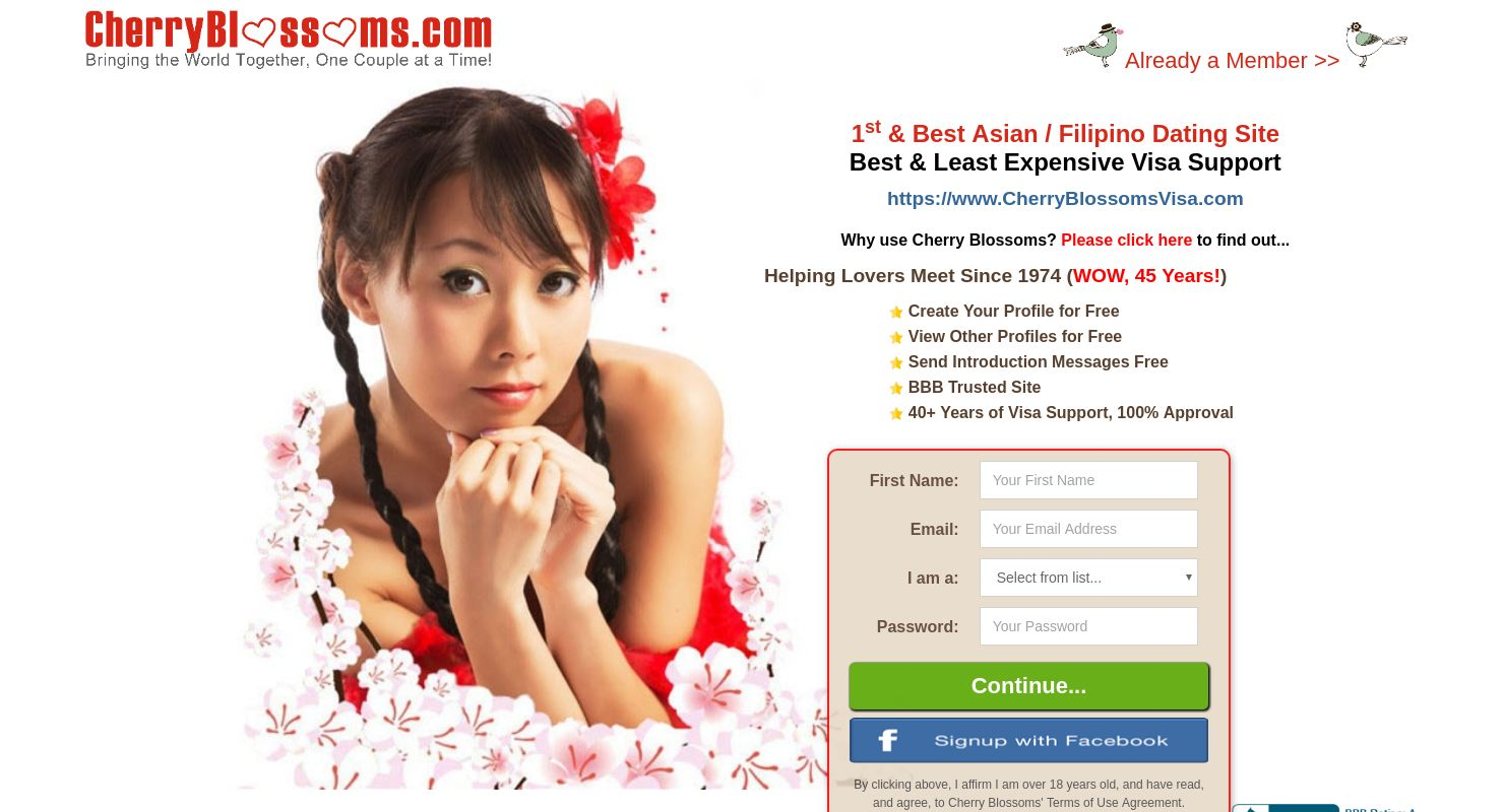wwwcherryblossomcom asian online dating)