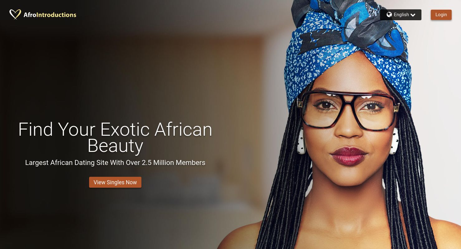 Afrointroduction. com Dating Site.