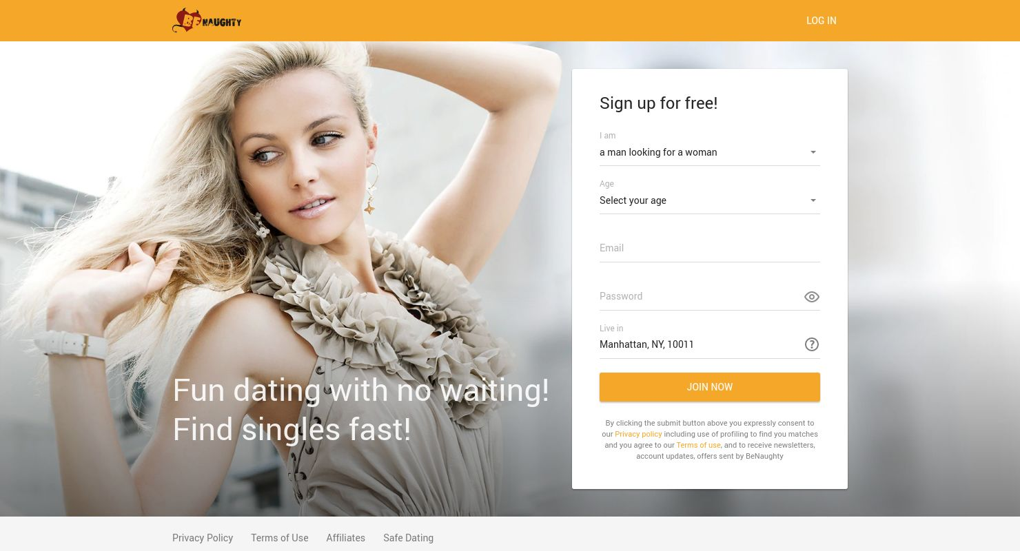 Free naughty dating sites