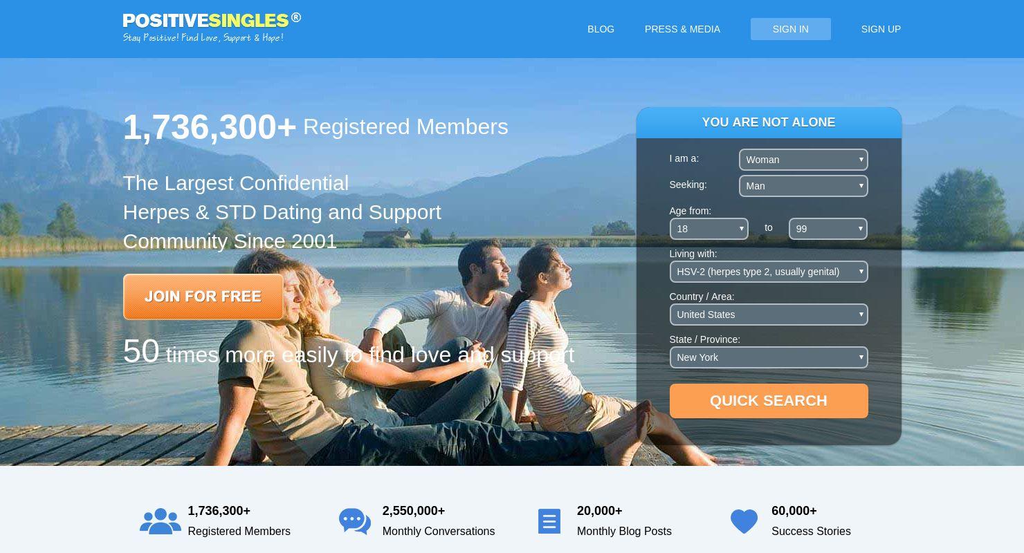 Herpes dating web stranica besplatno